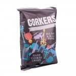 Corkers: Brittish Hand Cooked Chips Sea Salt and Black Pepper